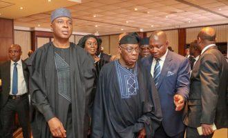 Saraki, Obasanjo join world leaders at Kofi Annan's funeral