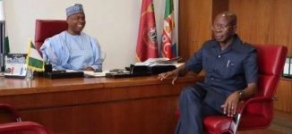 Saraki to Oshiomhole: You have no moral ground to remain in politics