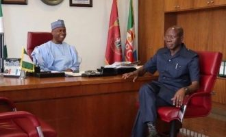 Oshiomhole: Saraki's ambition was destroying APC… thank God he has moved on