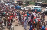 VIDEO: Protest in Osogbo over Tinubu's 'Osun doesn't have my kind of money' comment