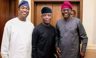How Sanwo-Olu's supporters 'took advantage' of his picture with Osinbajo