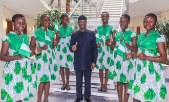 'We'll be part of your success story' — Osinbajo hosts Nigerian winners of Silicon Valley contest