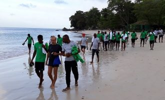 Rohr asks Eagles to 'show character' in AFCON qualifier against Seychelles
