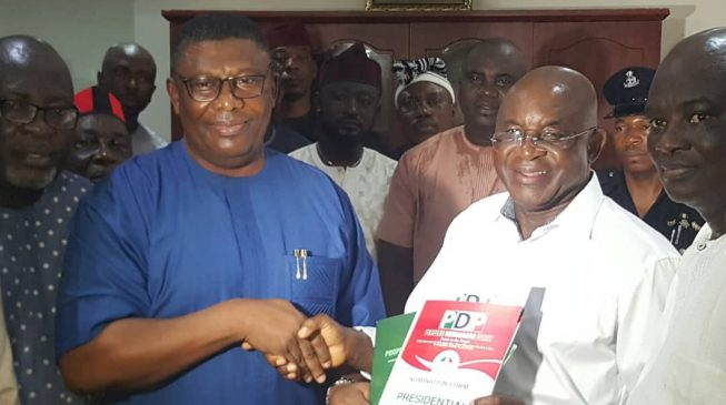 'I'll fix the economy in two years' — David Mark joins presidential race