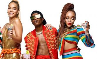 PHOTOS: Wizkid teams up with Moschino, CIROC for 18-month campaign