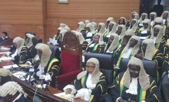 Federal high court judges asked to conclude pre-election cases by October