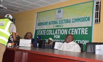 Announcement of Osun governorship result