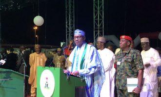 'Don't abandon APC' — Buhari begs losers to emulate Ambode