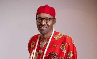 EXTRA: Buhari wears pan-Nigerian attires again — ahead of 2019 polls
