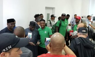 AFCON: Super Eagles arrive in Tunisia for second test against Libya
