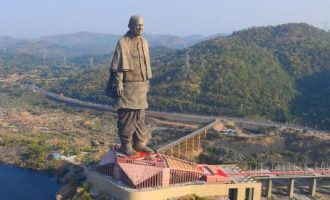 PHOTOS: World's tallest statue unveiled in India