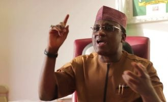 Marafa knocks Yari over 'Oshiomhole must go' protest in Zamfara