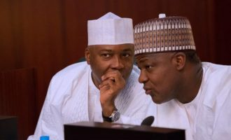 Saraki, Dogara absent at Independence Day parade — first time in three years