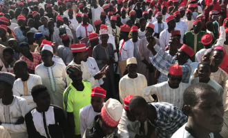 '5000' Kwankwaso supporters dump PDP for APC