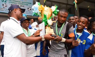 First Bank FC beat SEC to clinch CBN Cup