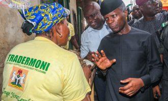 Despite criticisms, Osinbajo takes TraderMoni to more Lagos markets