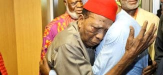 Ben Nwabueze to Atiku: I won't die until you become president