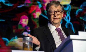 Bill Gates unveils toilet that turns human waste to fertilizer
