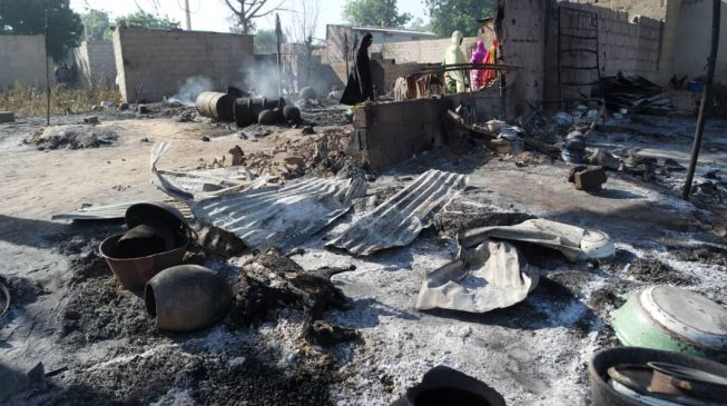 Eight killed as Boko Haram invades IDP camps in Borno