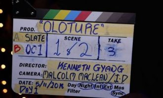 Kenneth Gyang at the helm of Mo Abudu's new film, 'Oloture'
