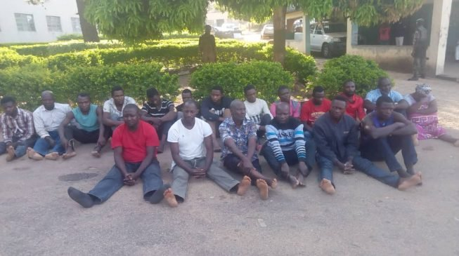 Police arraign 19 suspects over killing of general
