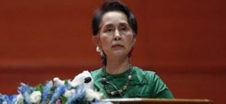 Amnesty International withdraws human rights award from Myanmar leader