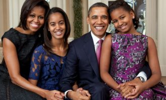 Michelle Obama says her children were conceived via IVF