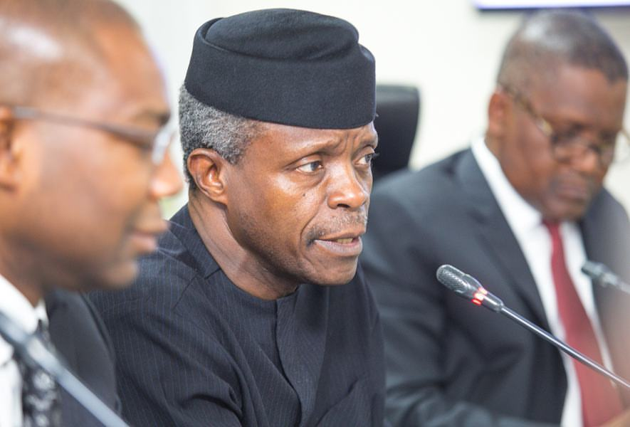 Image result for Osinbajo: Nigerian banks have to reform to survive what is coming