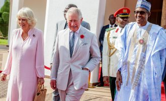 Prince Charles, duchess of Cornwall in Nigeria