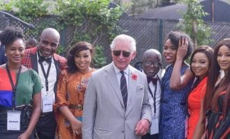 PHOTOS: Prince Charles meets with Nigerian celebrities, creatives in Lagos
