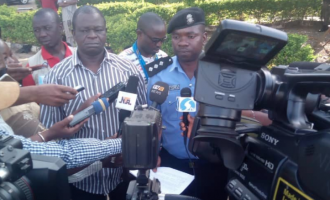 PHOTOS: Police parade 'killers' of Army general