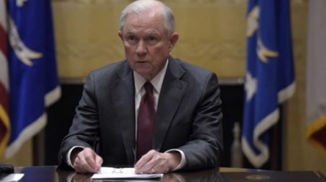 Jeff Sessions resigns as US attorney-general at Trump's request
