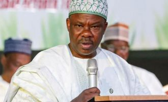 Oshiomhole wants to hijack my government, Amosun cries out