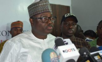 There's no leadership vacuum in our party, says APC