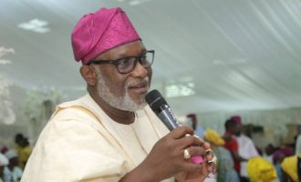 Akeredolu: It may not be easy to beat Jegede