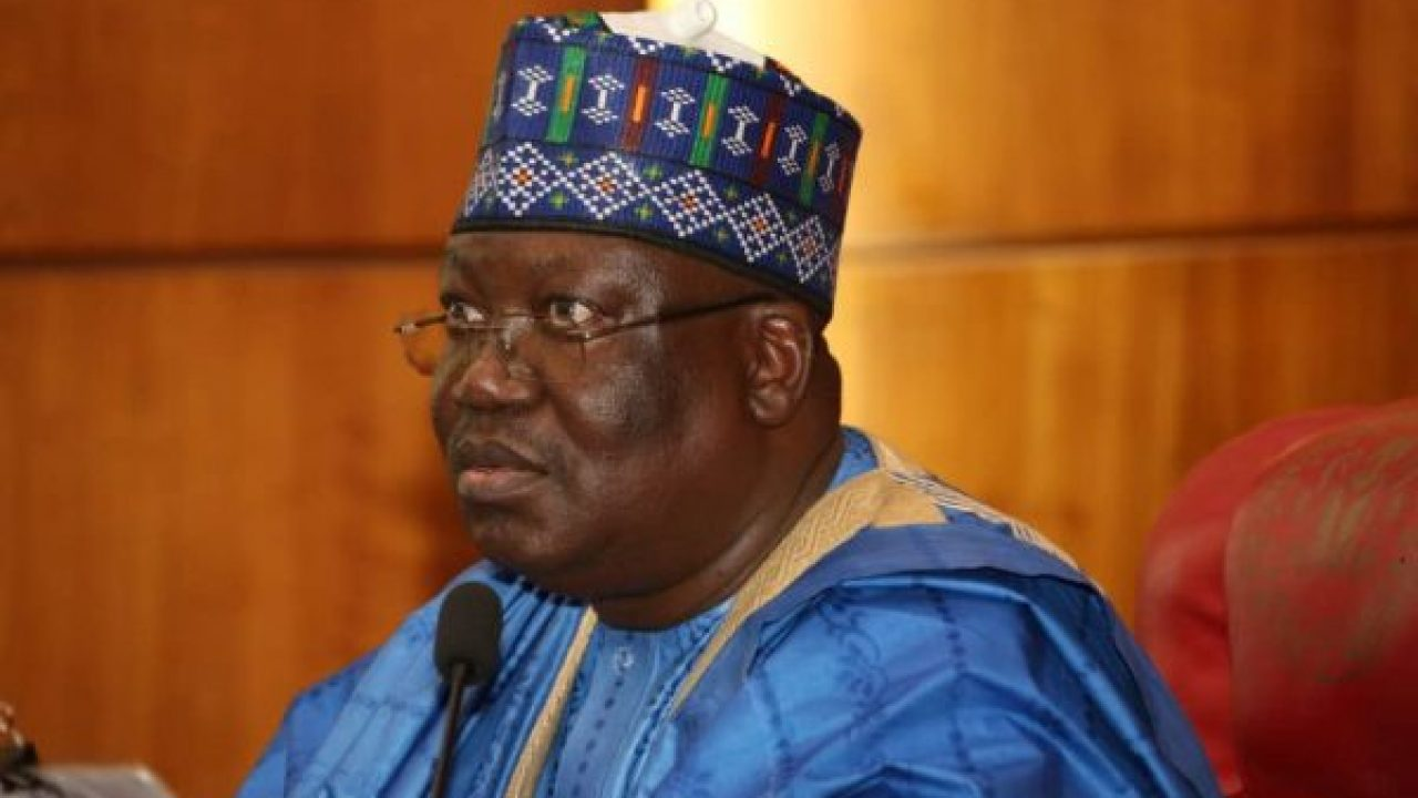 Senate President, Dr. Ahmad Lawan. Photo: The Cable