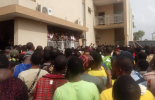 VIDEO: Protesters hit the streets over footballer 'killed by SARS operative'