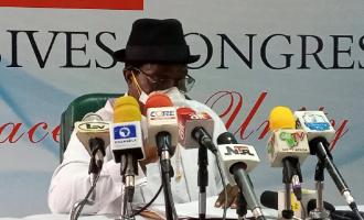 Buhari backs Giadom as acting national chairman of APC