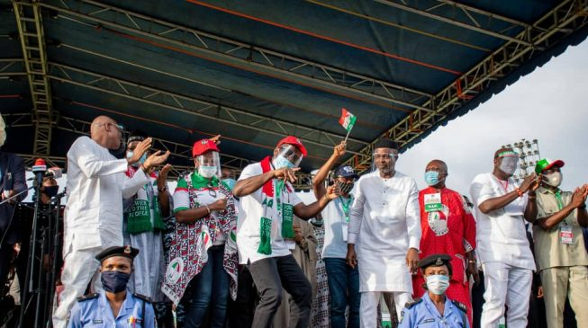 Obaseki clinches PDP ticket, to face Ize-Iyamu in election
