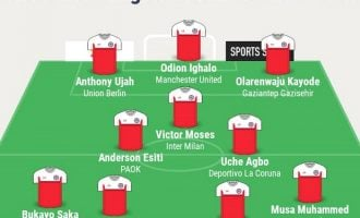 Ighalo, Ujah, Moses… TheCable's team of the week