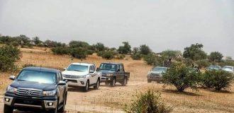 Gunmen open fire on Borno gov's convoy