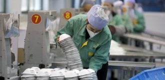 COVID-19: How China produced '70bn face masks' in three months