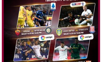 Enjoy unbeatable Live Sports action with GOtv MAX