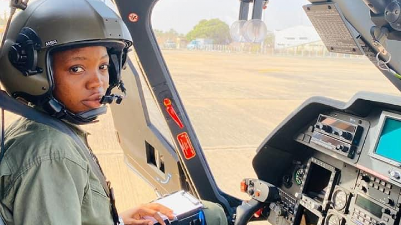 Air force's first female combatant helicopter pilot dies in freak ...