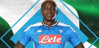 Osimhen completes £74m move to Napoli