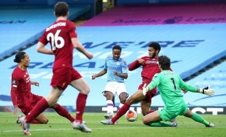 Man City spoil Liverpool's party with 4-0 thrashing