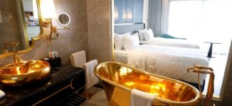 PHOTOS: Take a look inside 'world's first' gold-plated hotel in Vietnam
